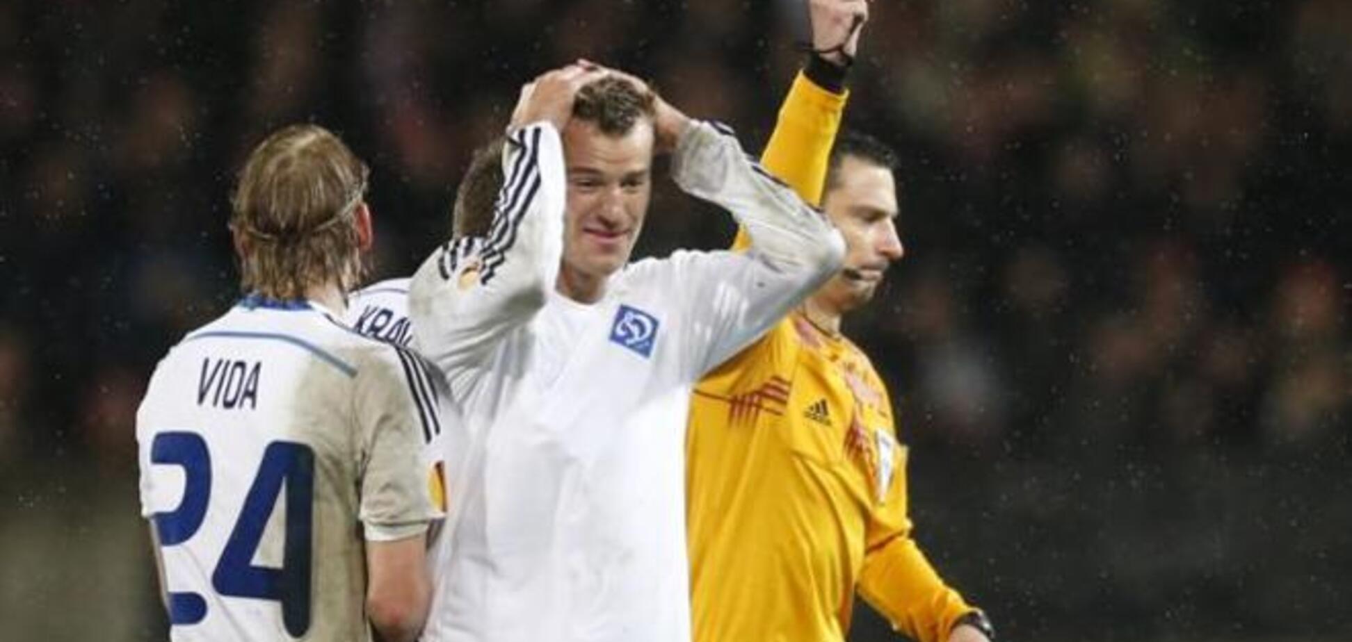 Український коментатор назвав суддю матчу Генгам - Динамо чистим 'тридваразом'