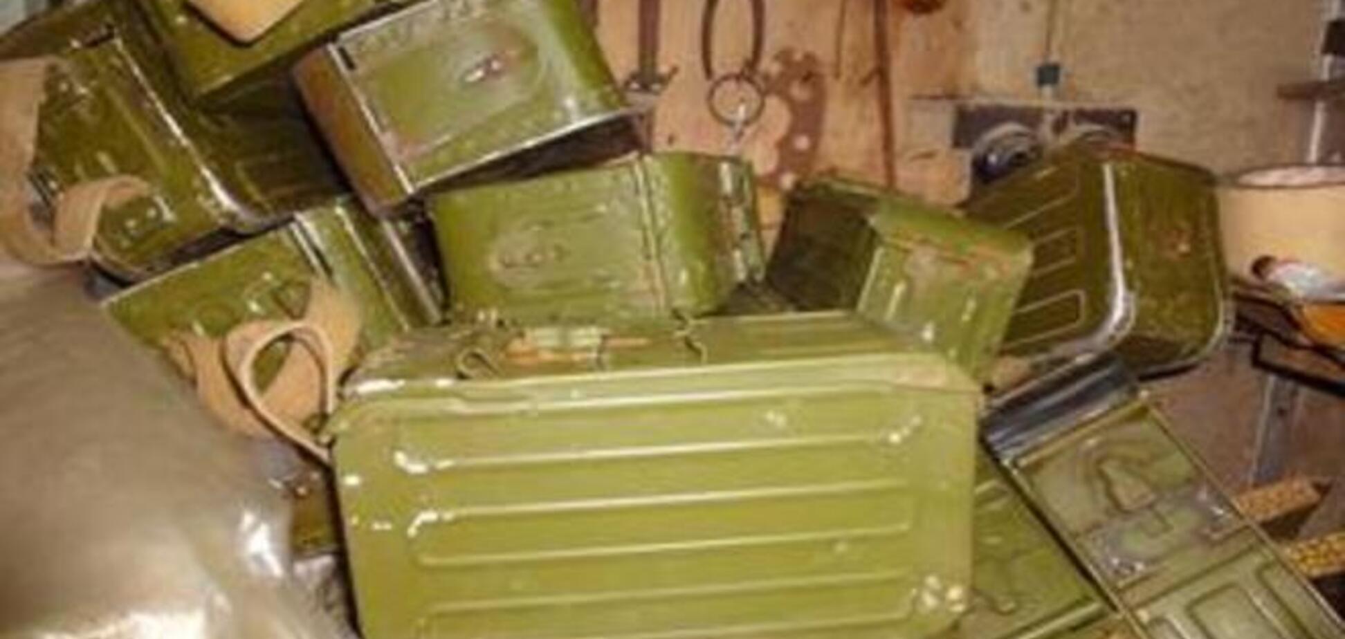 В киевской квартире обнаружили арсенал оружия