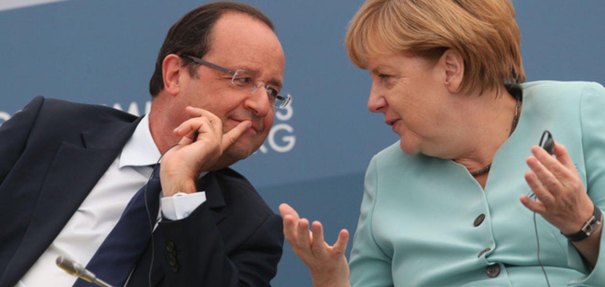 Меркель и Олланд цинично позволили Путину нарушать 'Минск-2' - СМИ