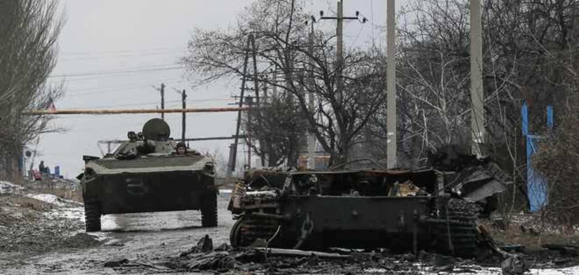 Штаб АТО сообщает о соблюдении боевиками перемирия, несмотря на потерю Чернухино