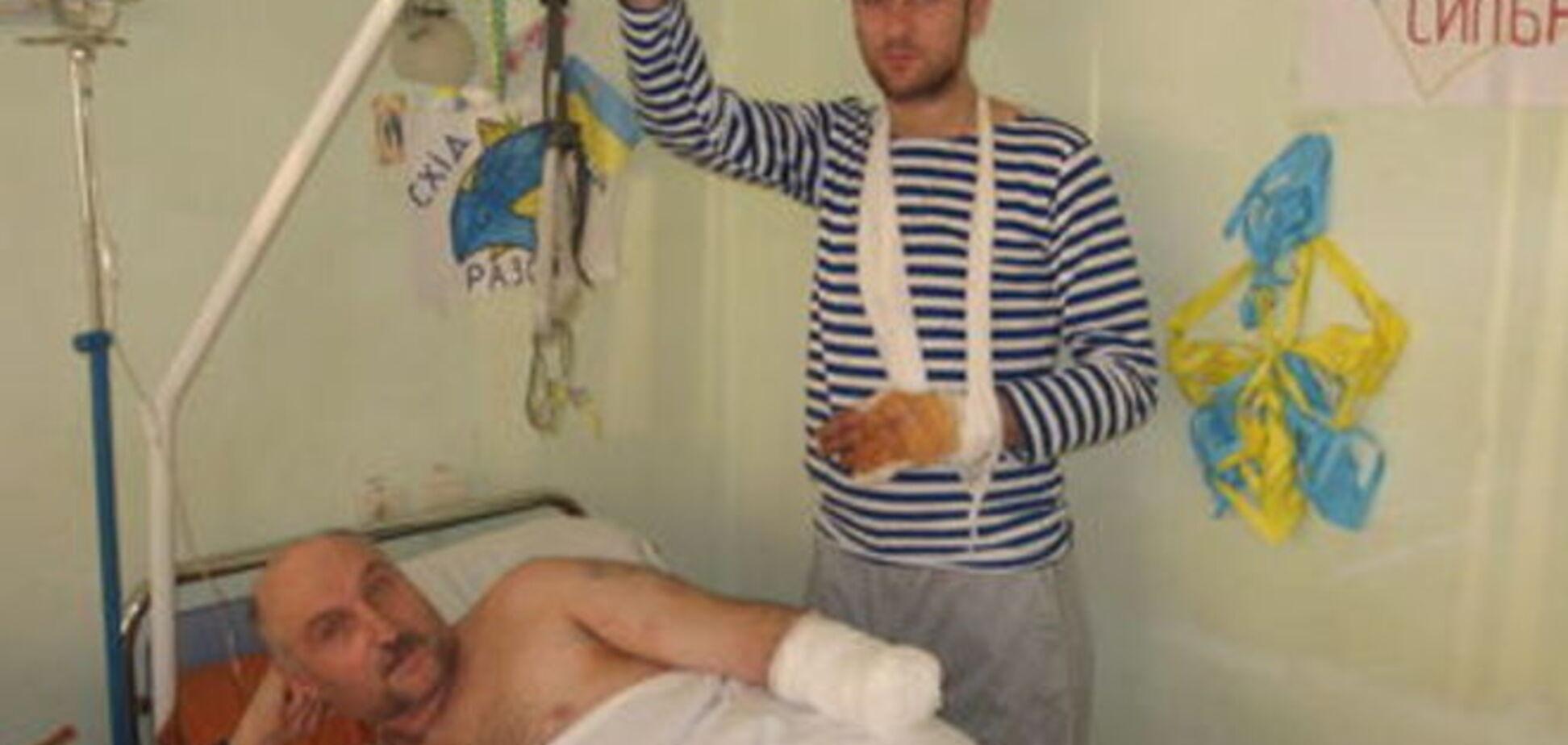 История одного героя: он выстоял на Майдане, но потерял руку в зоне АТО