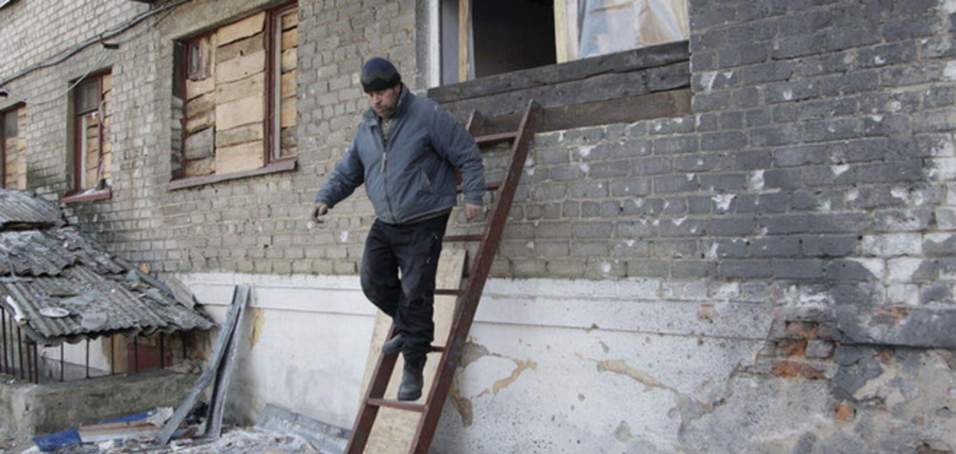 Дебальцево обстреляли во время визита миссии ОБСЕ