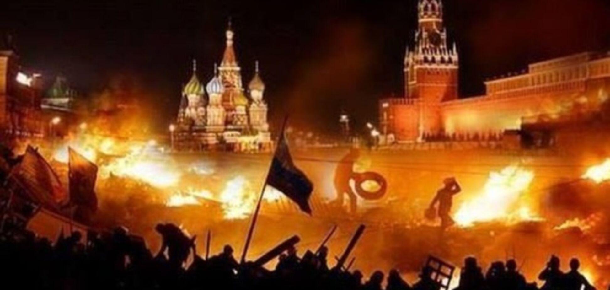 Я не буду сильно удивлен, если в Москве начнут гранаты кидать в толпу