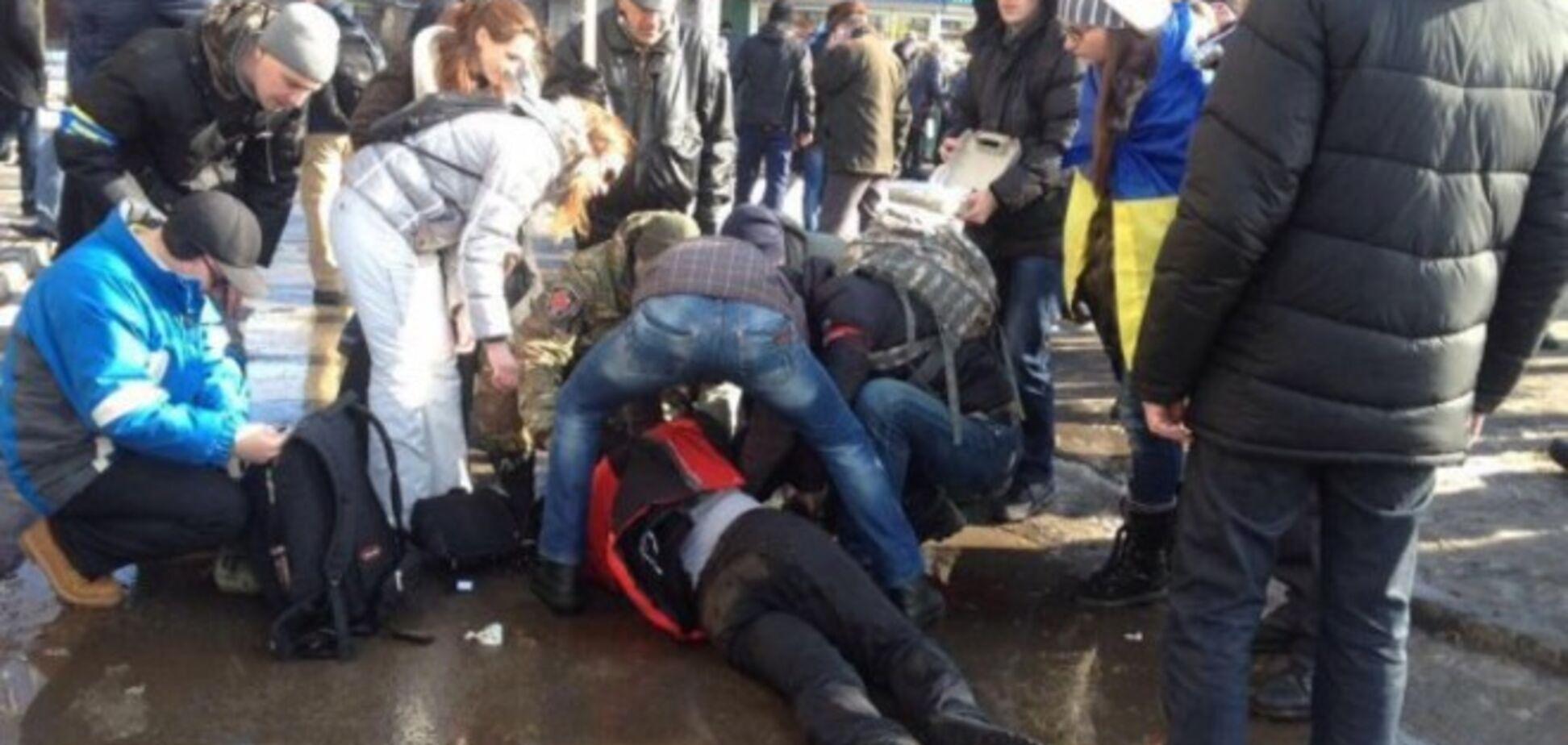 'На террористе и шапка горит!'. В МВД выяснили, кто стоит за взрывом в Харькове