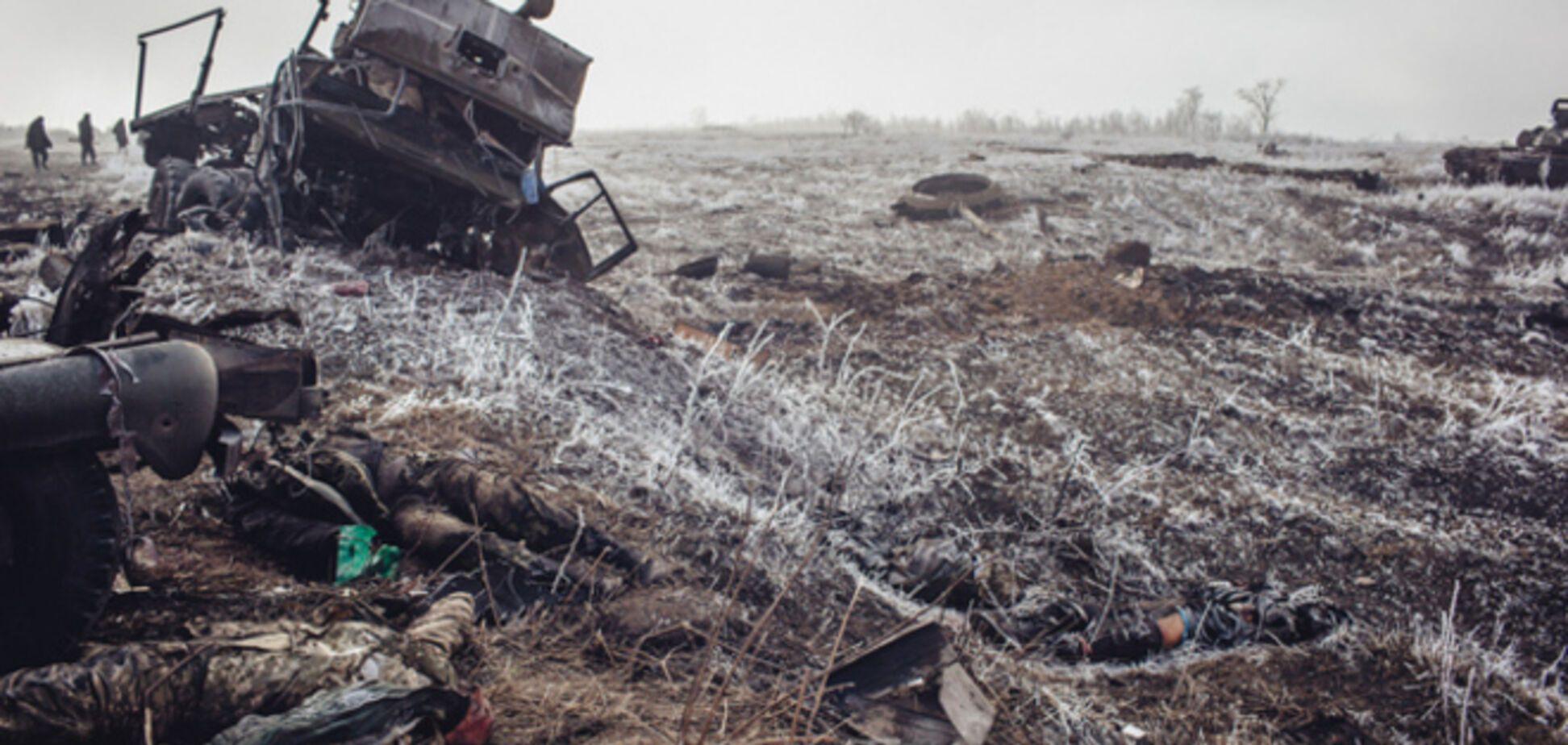 В Днепропетровск доставили тела 40 погибших под Дебальцево воинов
