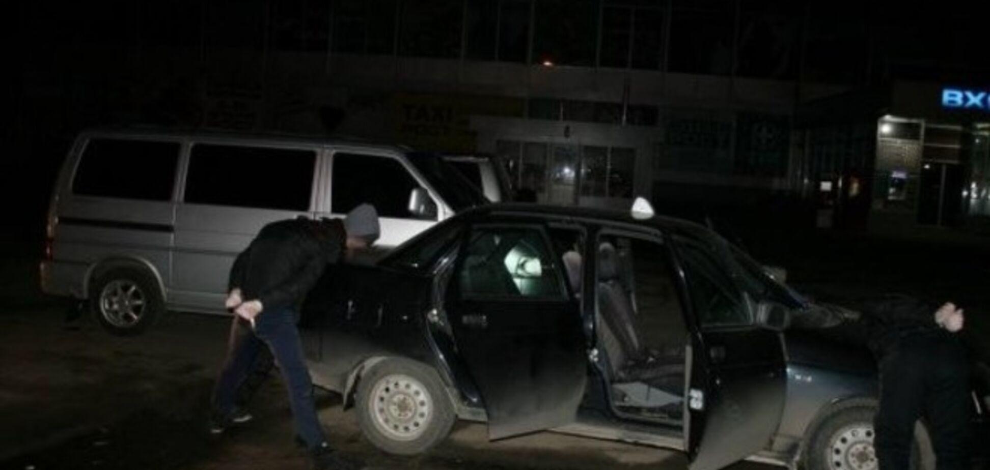 В сети появилось видео задержания террористов в Харькове