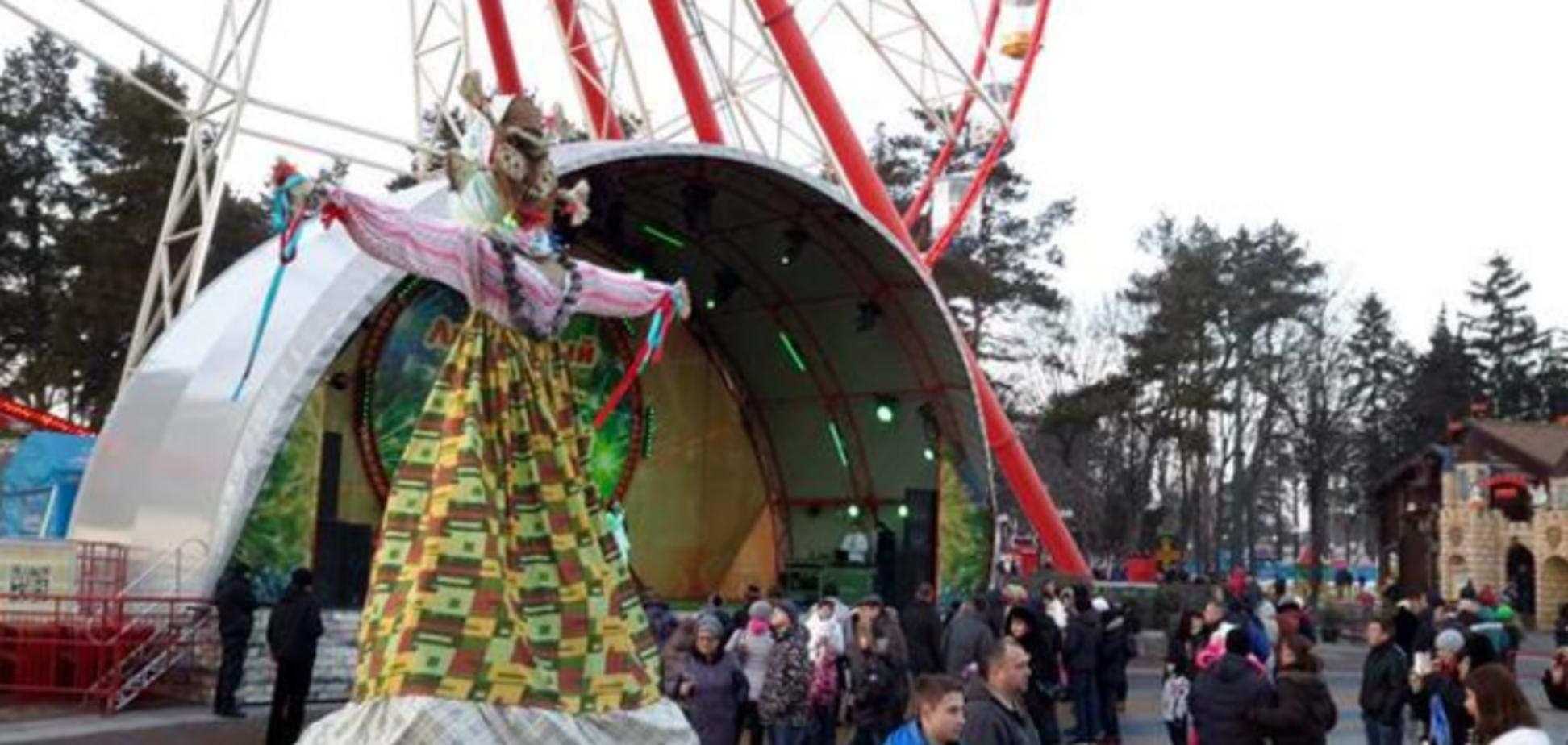 В Харькове, несмотря на теракт, не отменили празднование Масленицы: опубликованы фото