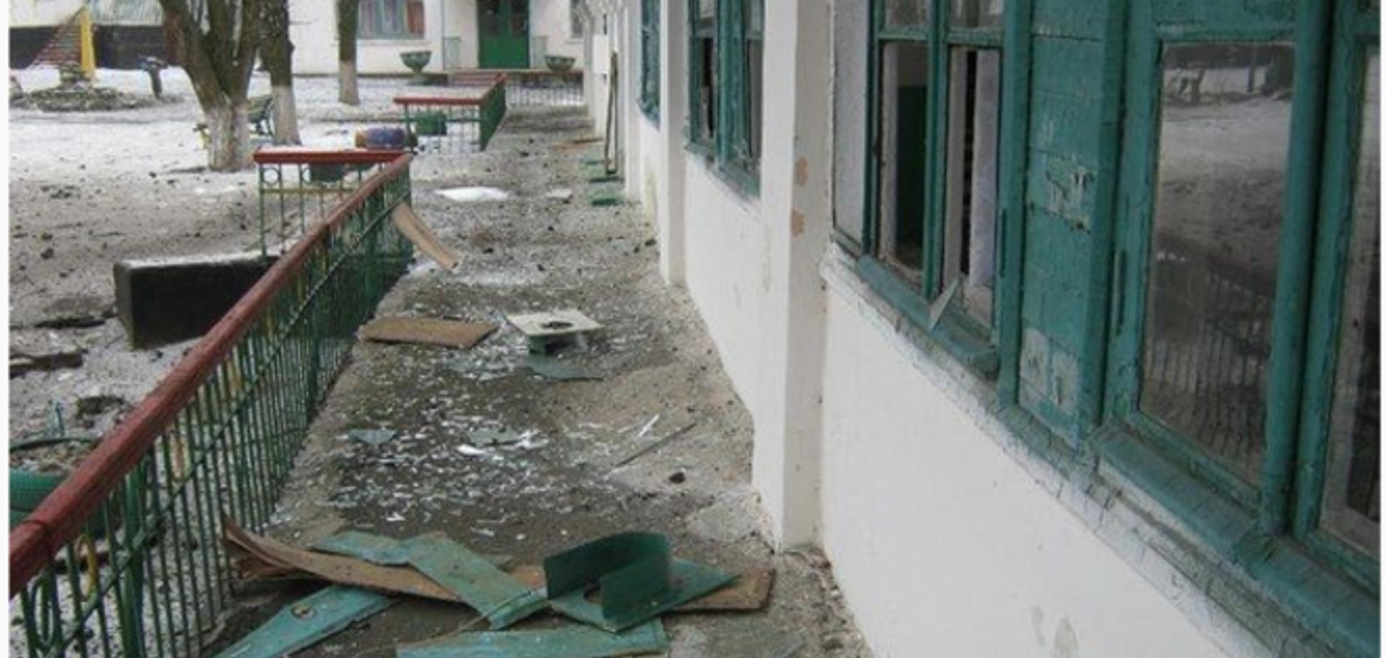 Боевики ударили 'Градом' по детской здравнице в Попасной: фото последствий