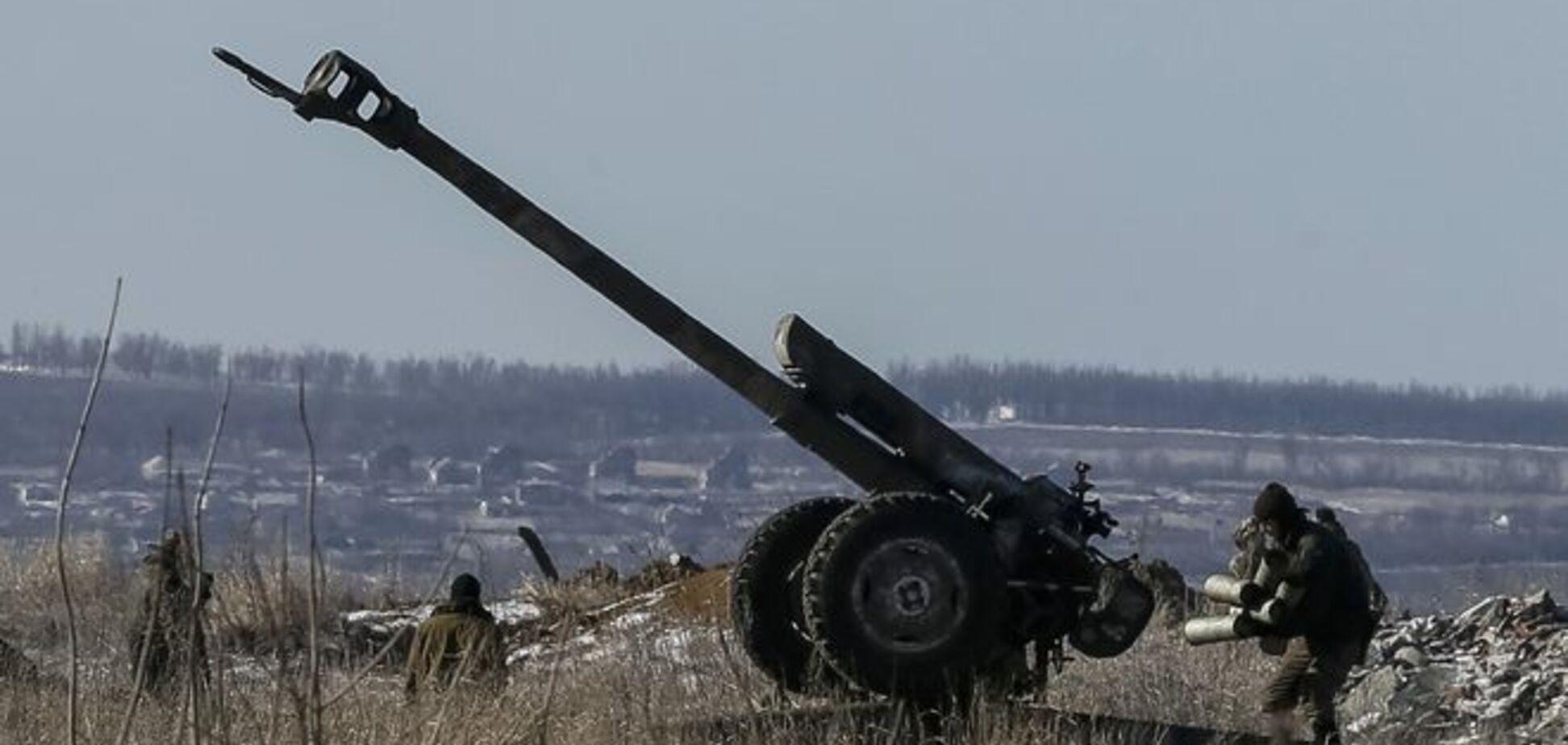 Отвод тяжелого вооружения не начинается из-за обстрелов со стороны террористов – штаб АТО