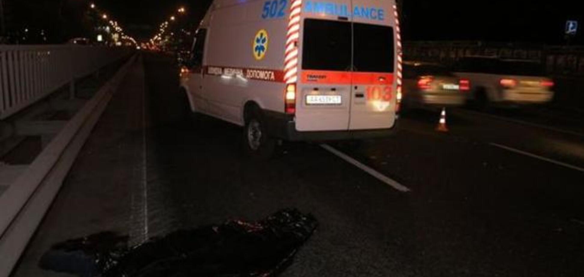 В Киеве 'карликовая машина' насмерть сбила пешехода: фото с места происшествия