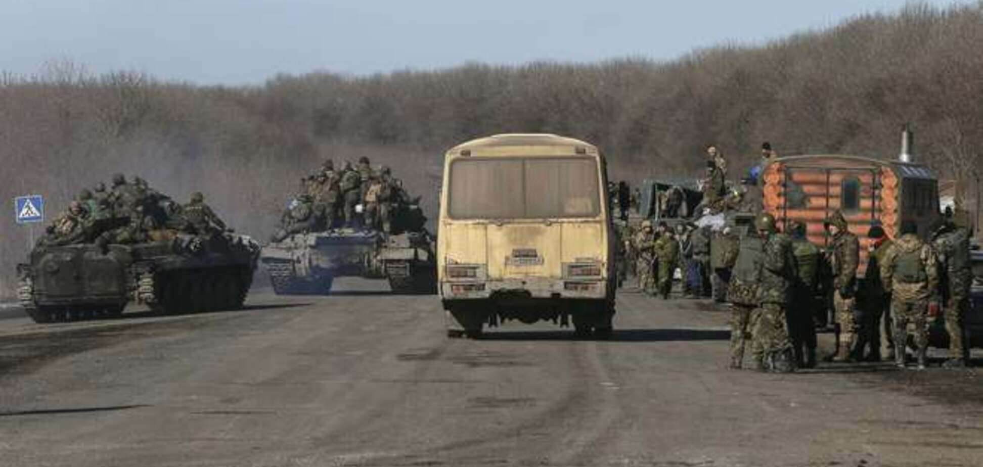 В Генштабе рассказали, сколько бойцов было выведено из Дебальцево