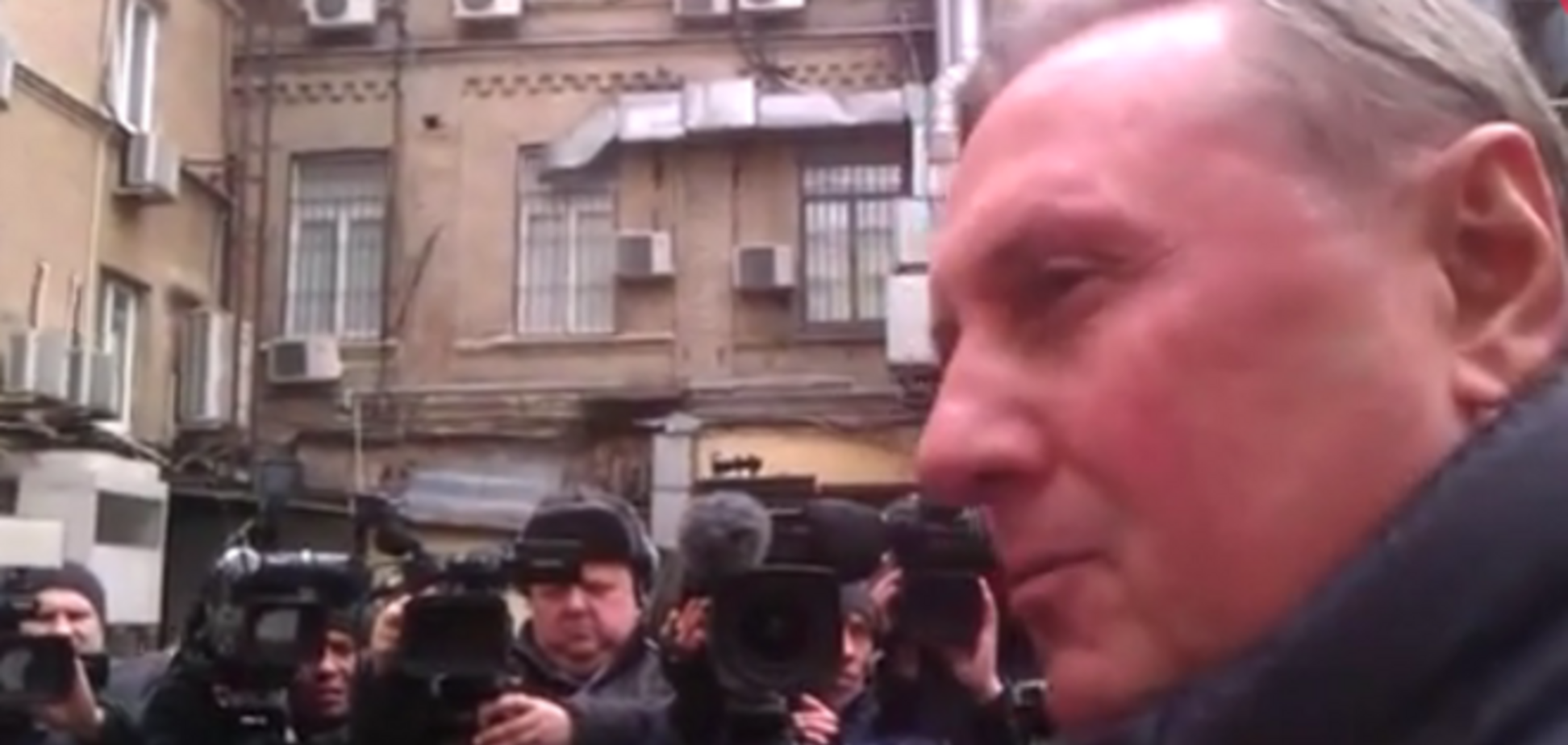 Ефремов жалуется, что его охраняют и днем, и ночью: опубликовано видео