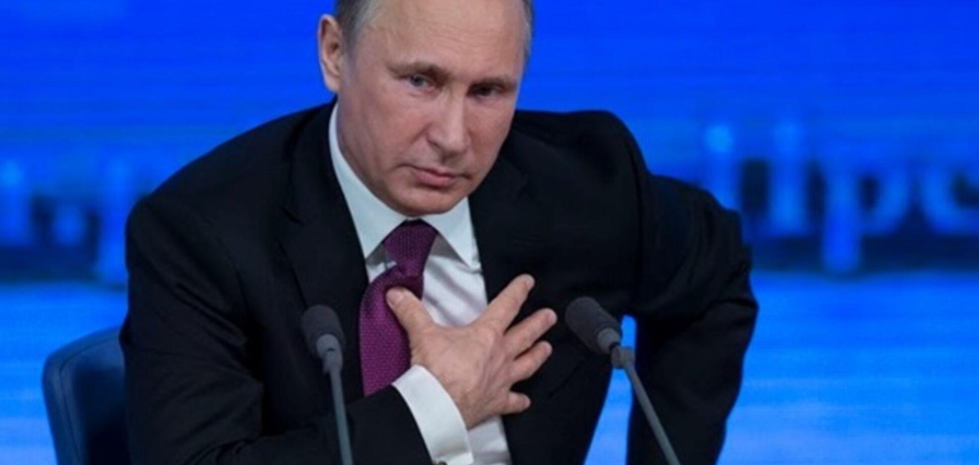 Путин обвинил Украину в раздувании конфликта с Россией
