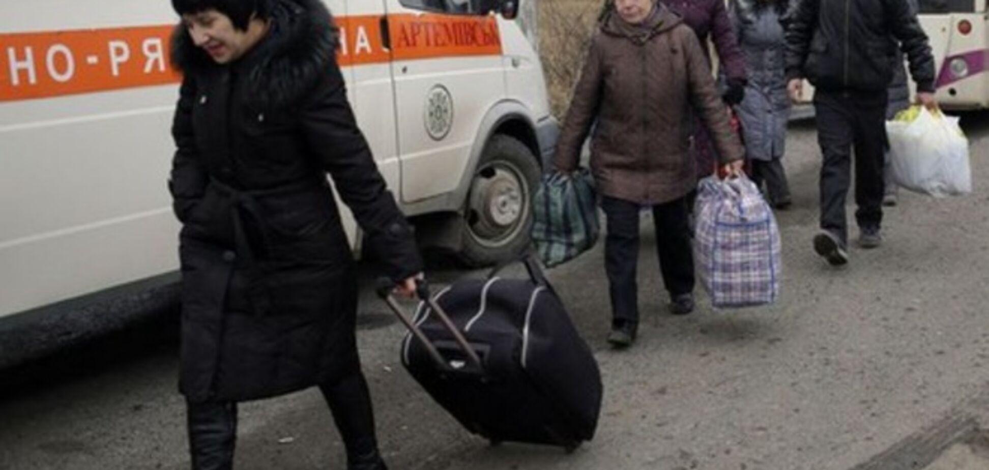 За месяц с Донбасса выехали более 9 тыс. человек