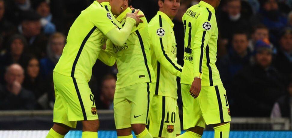 'Барселона' победила 'Манчестер Сити' в суперматче Лиги чемпионов