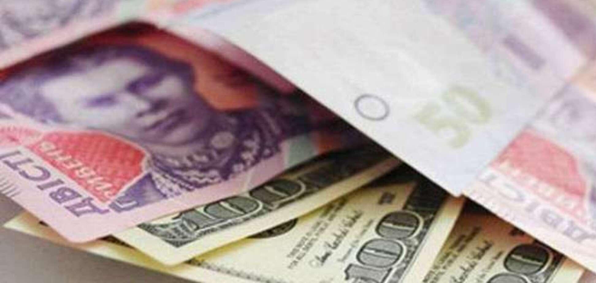Очередной обвал гривни: межбанк закрылся долларом по 33,50