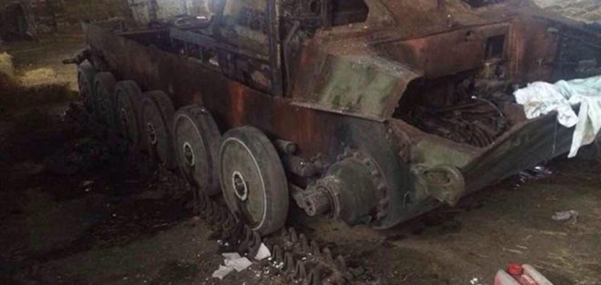 Украинские партизаны взорвали склад 'ДНР' в Донецке