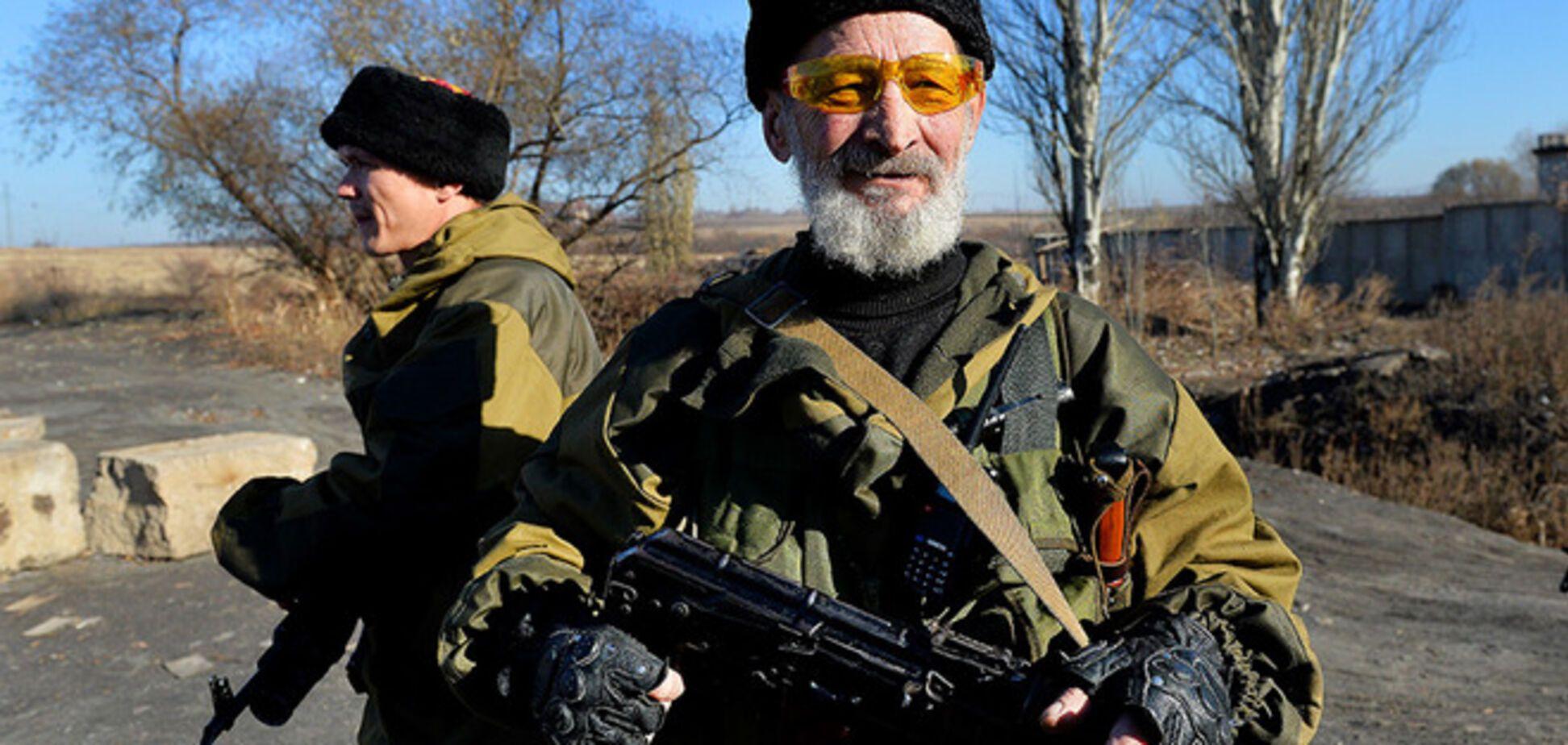 Террористы стягивают войска на передовую и пополняют ряды российскими 'казаками'