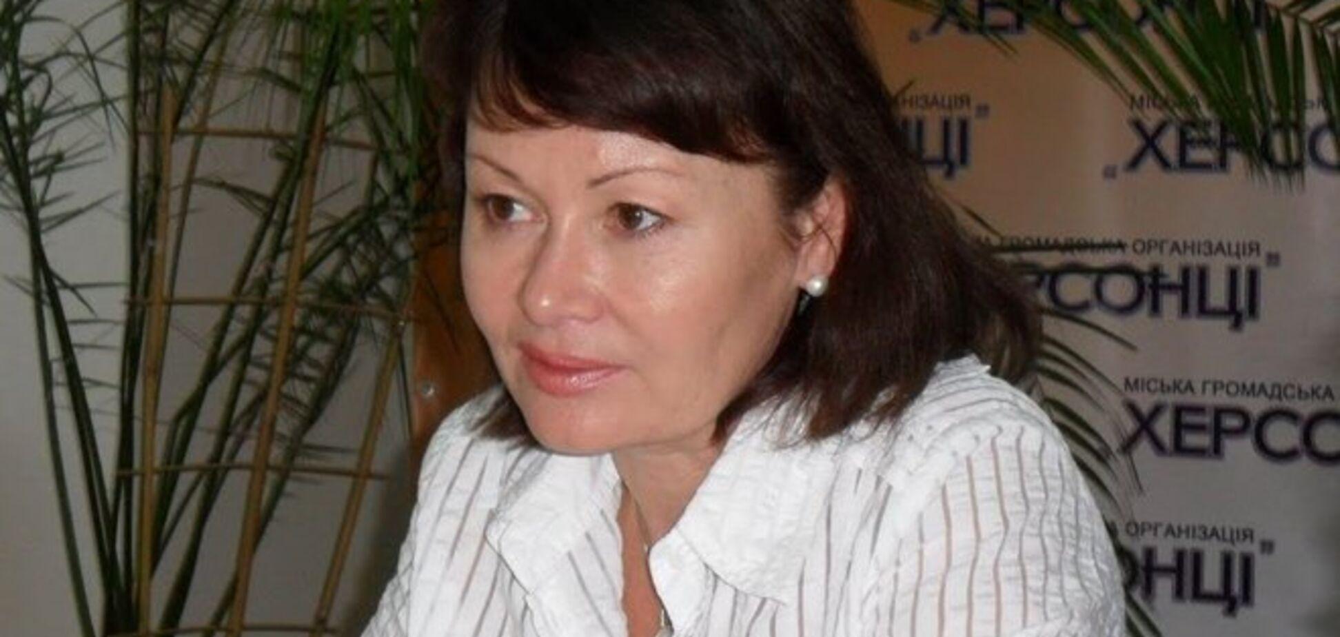 Клявшаяся в верности Партии регионов соратница Януковича возглавила один из департаментов Минобороны
