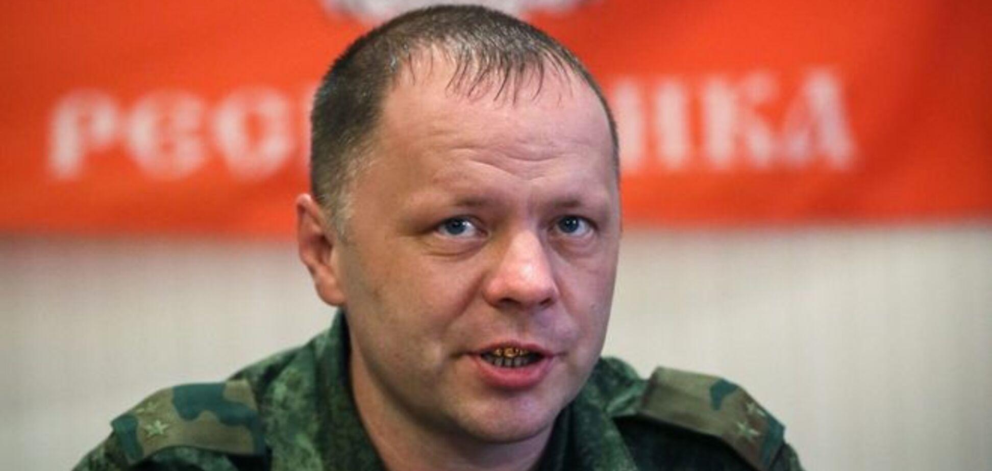 Террористы заявили об обстреле кортежа 'министра ДНР'
