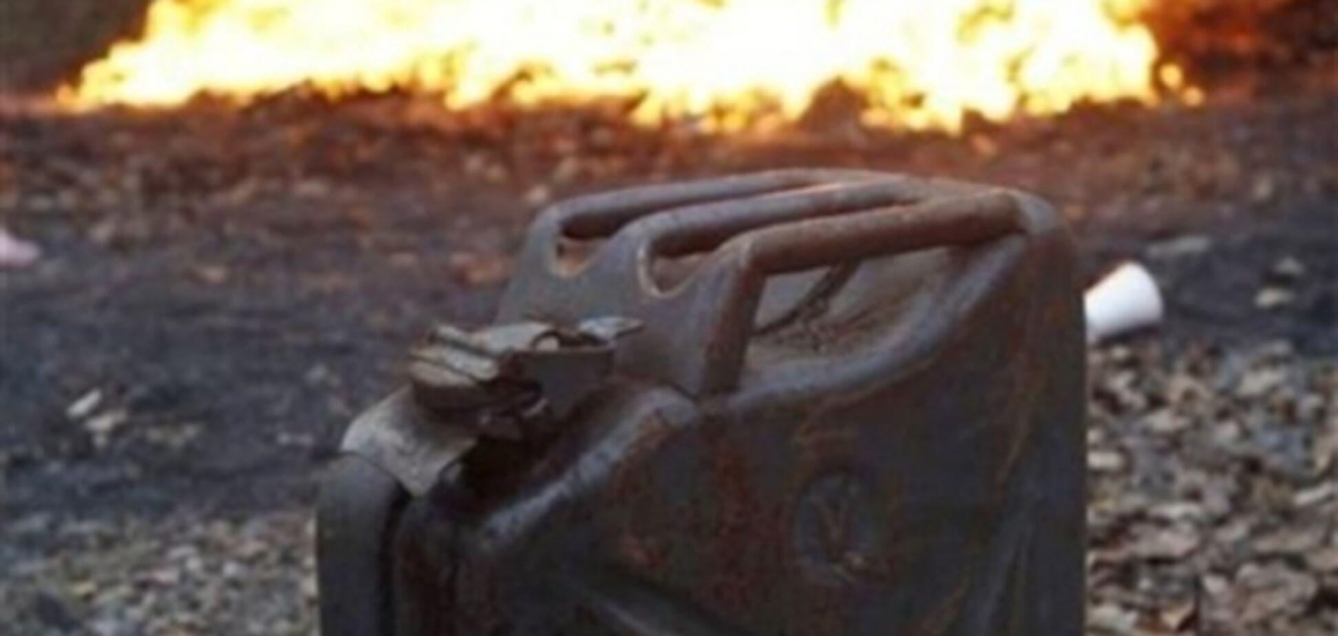 На Прикарпатье мужчина совершил самосожжение на собственном огороде