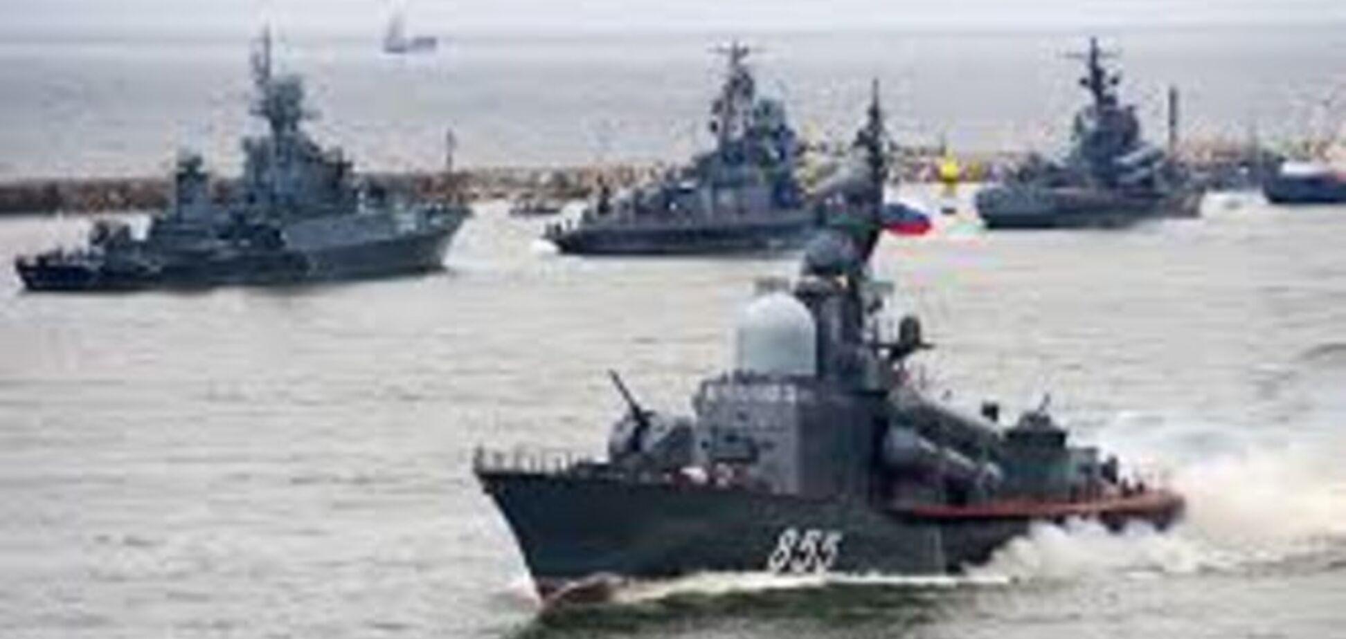 Военные корабли России готовы к артиллерийскому бою в Черном море