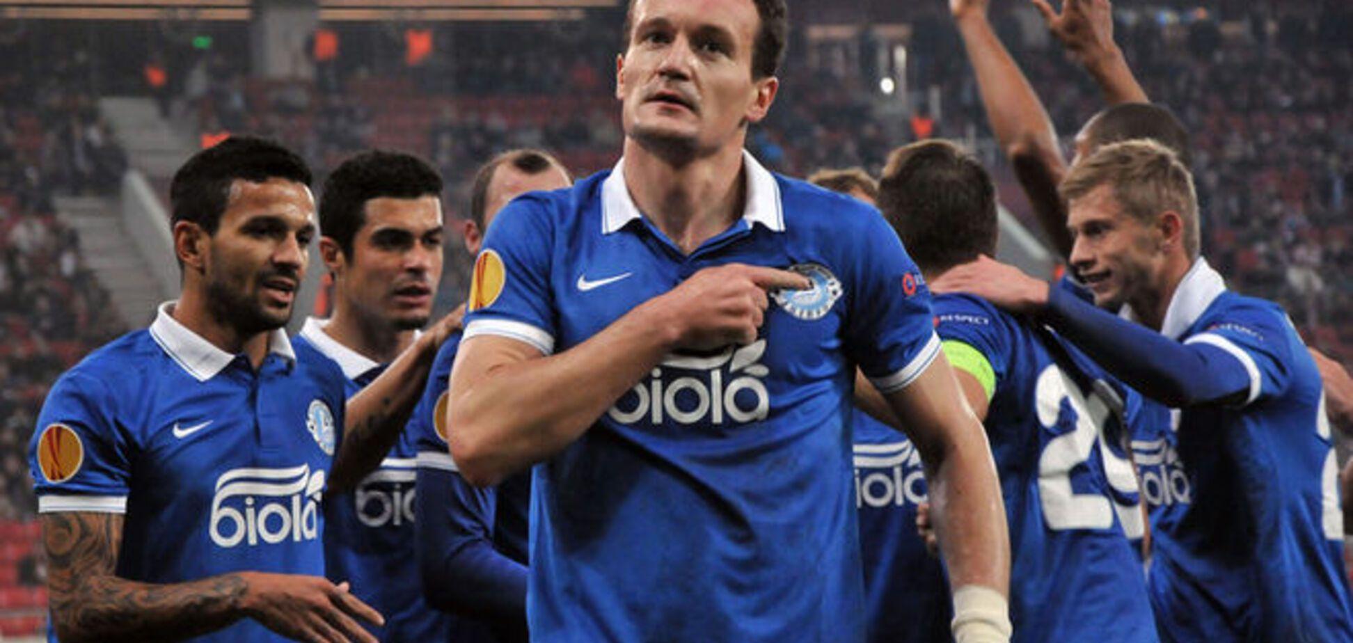 'Дніпро' феєрично вирвав нічию у чемпіона Греції в Лізі Європи