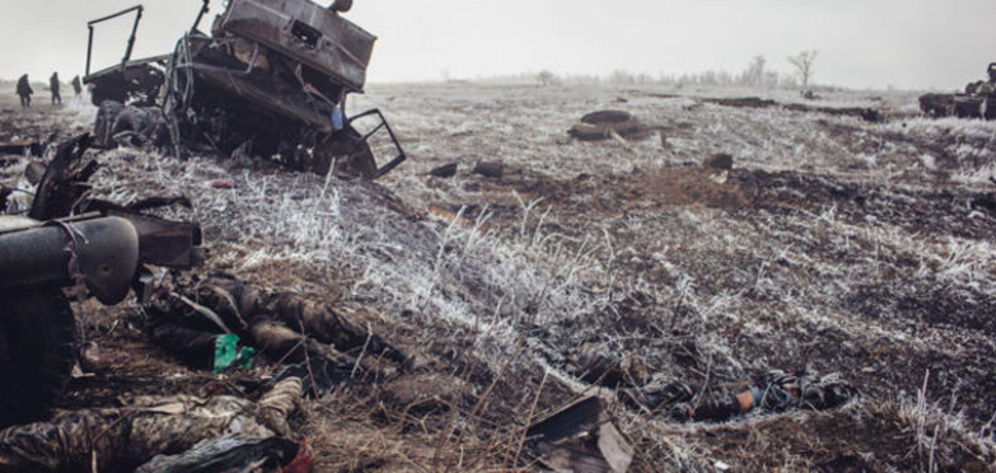 Минобороны: за последние двое суток из Дебальцево вывезли 15 тел воинов АТО