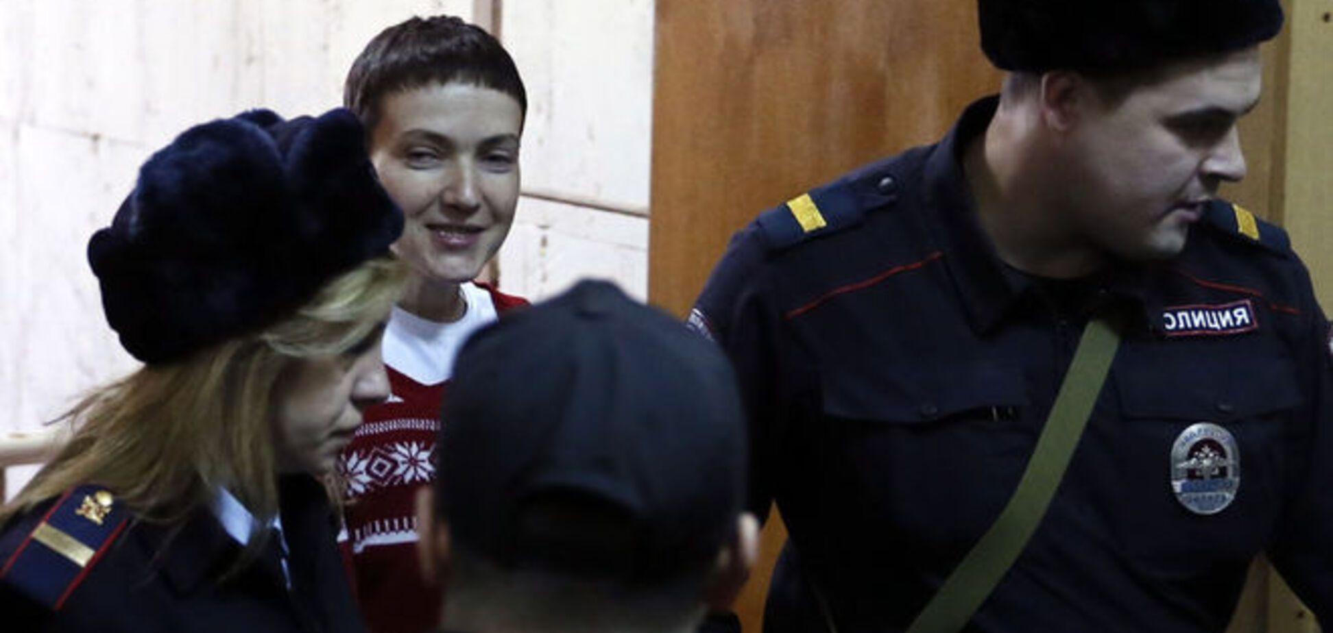 Савченко намерена объявить сухую голодовку