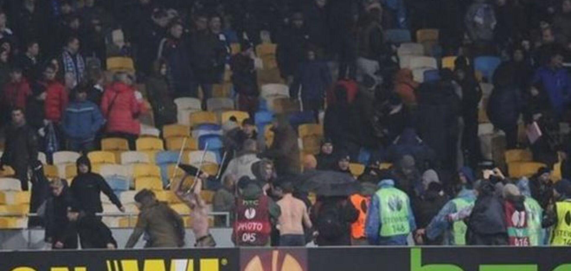 Стала известна причина беспорядков фанатов на матче Динамо - Генгам