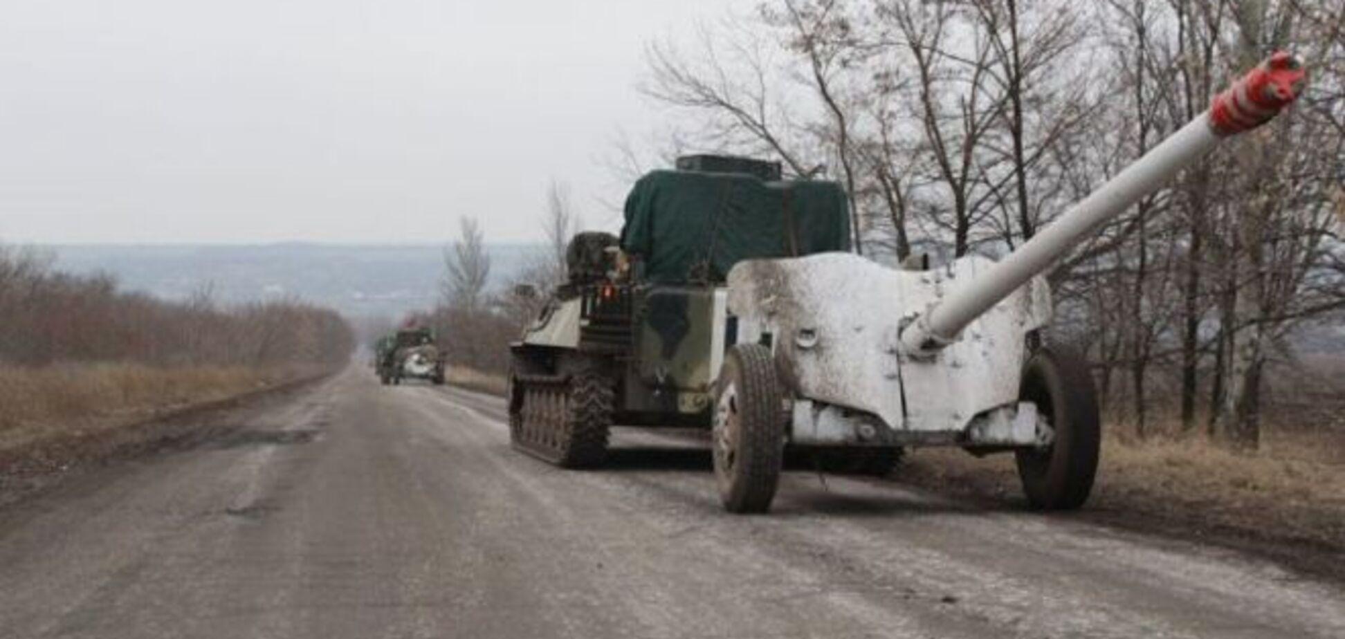 Из зоны АТО отвели уже 15 противотанковых пушек - Селезнев