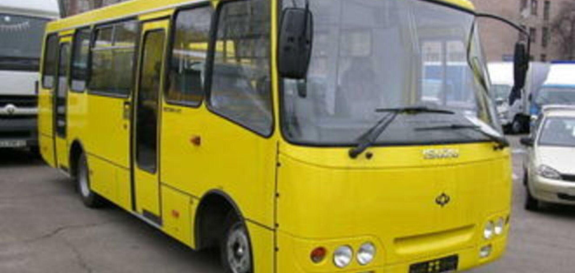 В Киеве наметилось подорожание маршруток до 10 грн