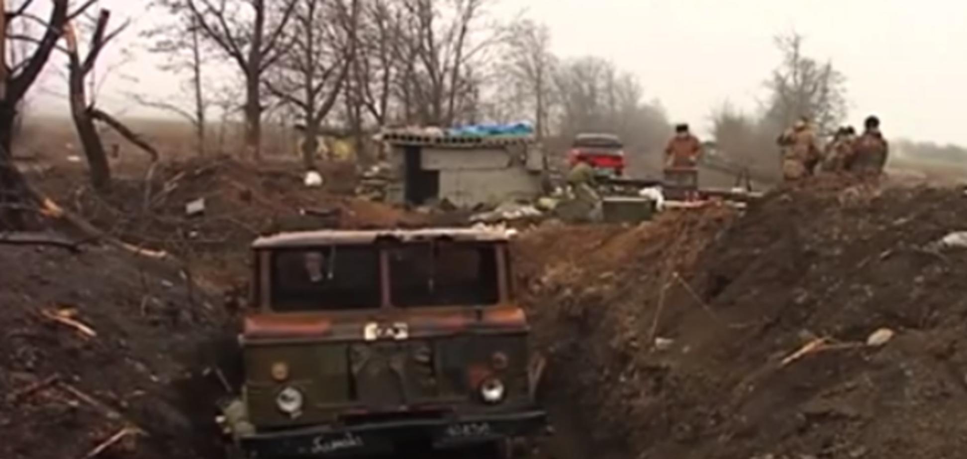 Призрак войны. Захваченное боевиками Чернухино превратилось в руины: видеофакт
