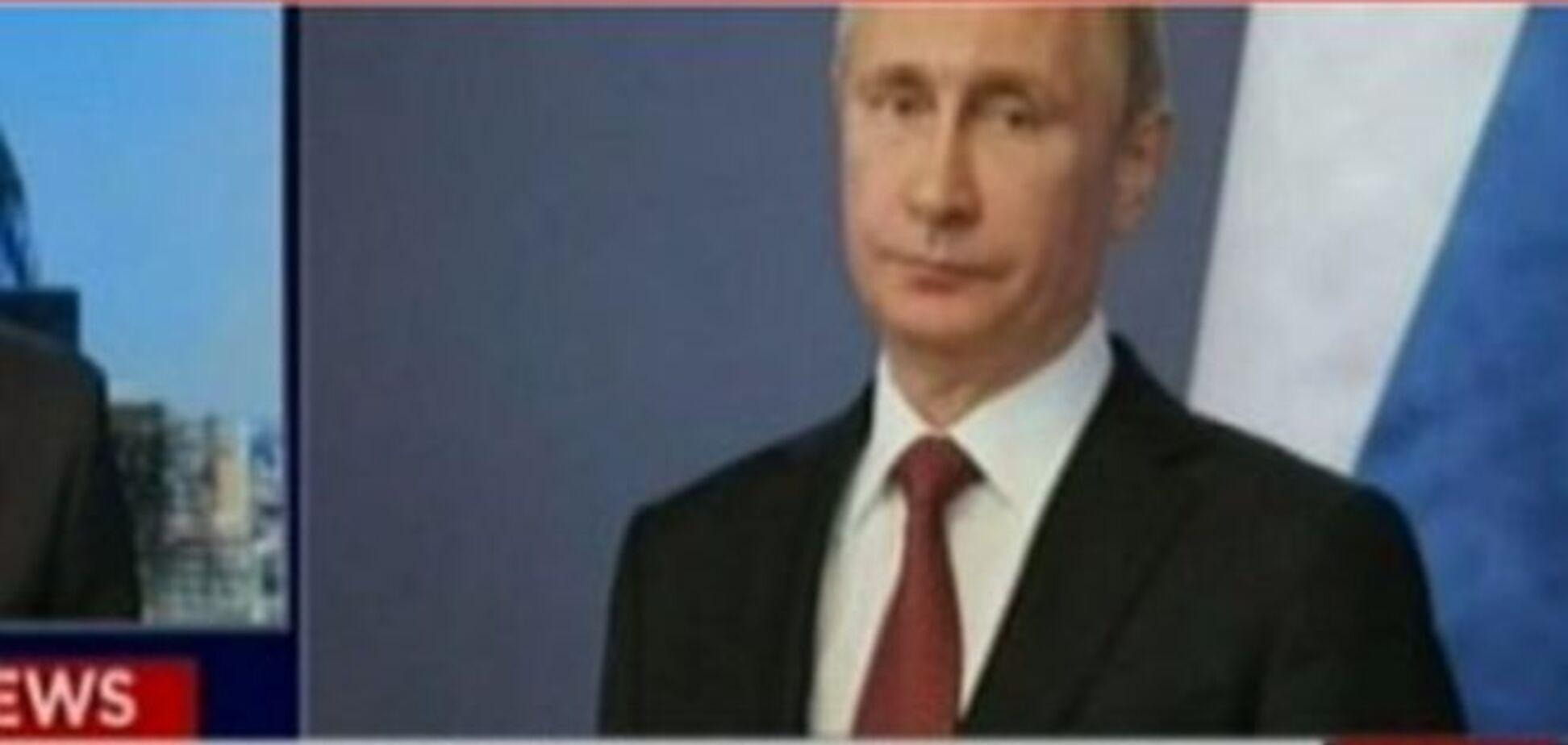 Канал СNN показал Путина террористом 'Исламского государства': видео конфуза
