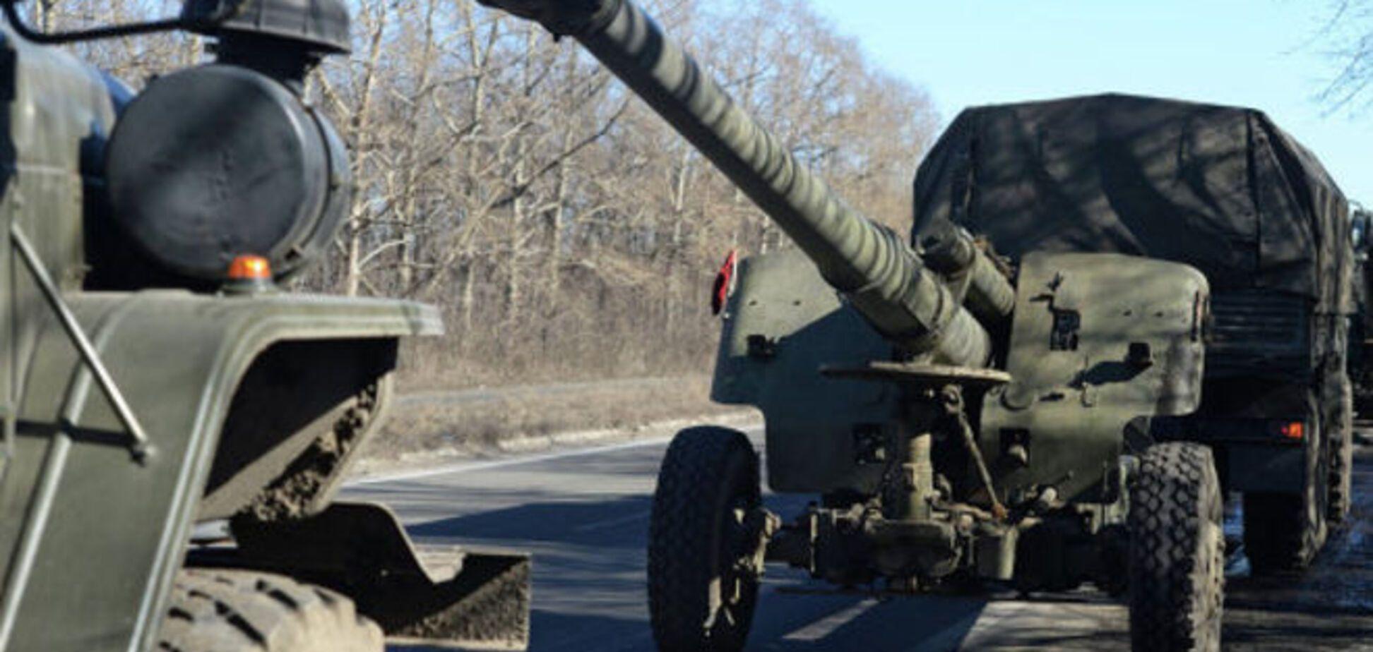 Тымчук рассказал, сколько на самом деле вооружения отвели террористы