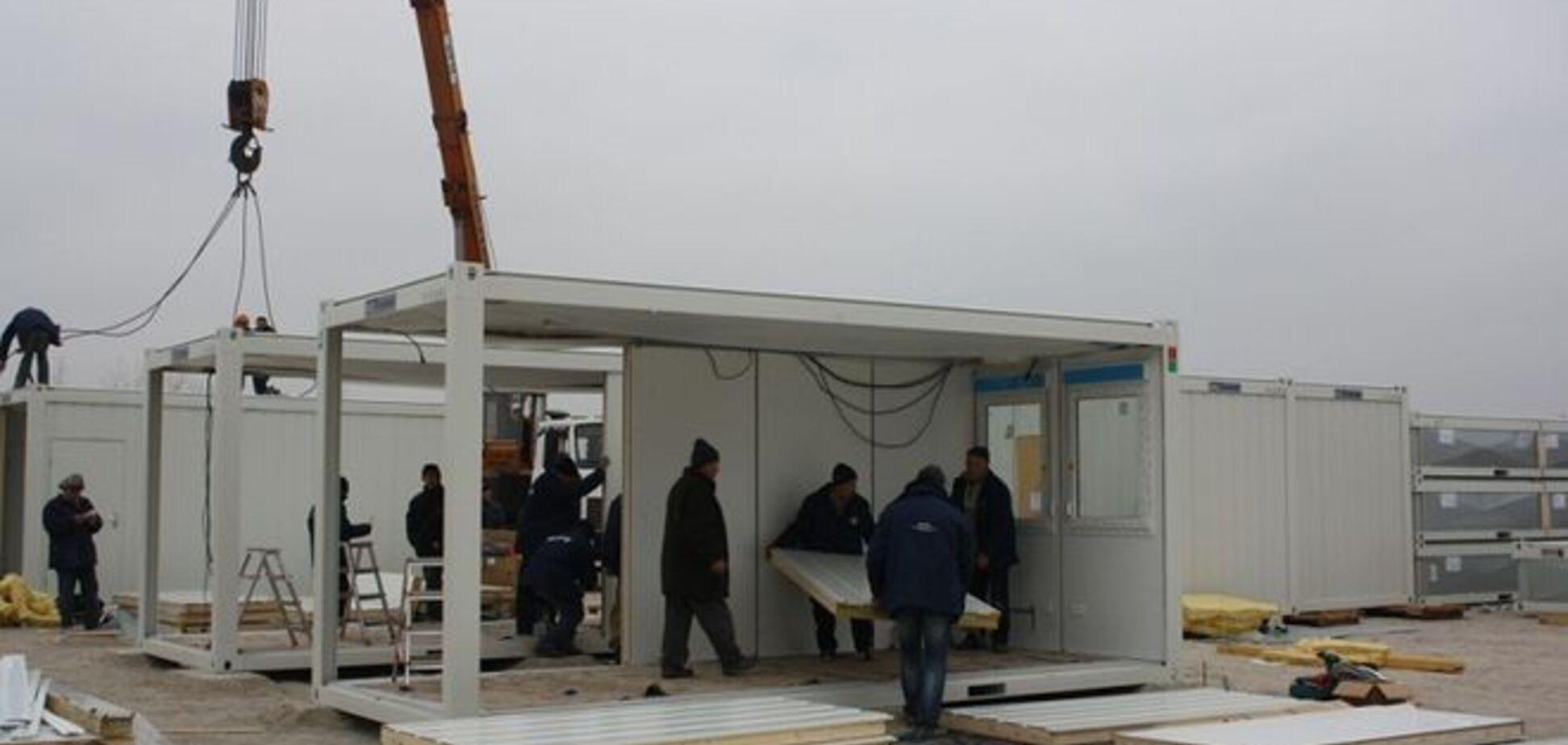 Уникальный бизнес-проект: переселенцы сами соберут себе дома, а потом увезут их на Донбасс