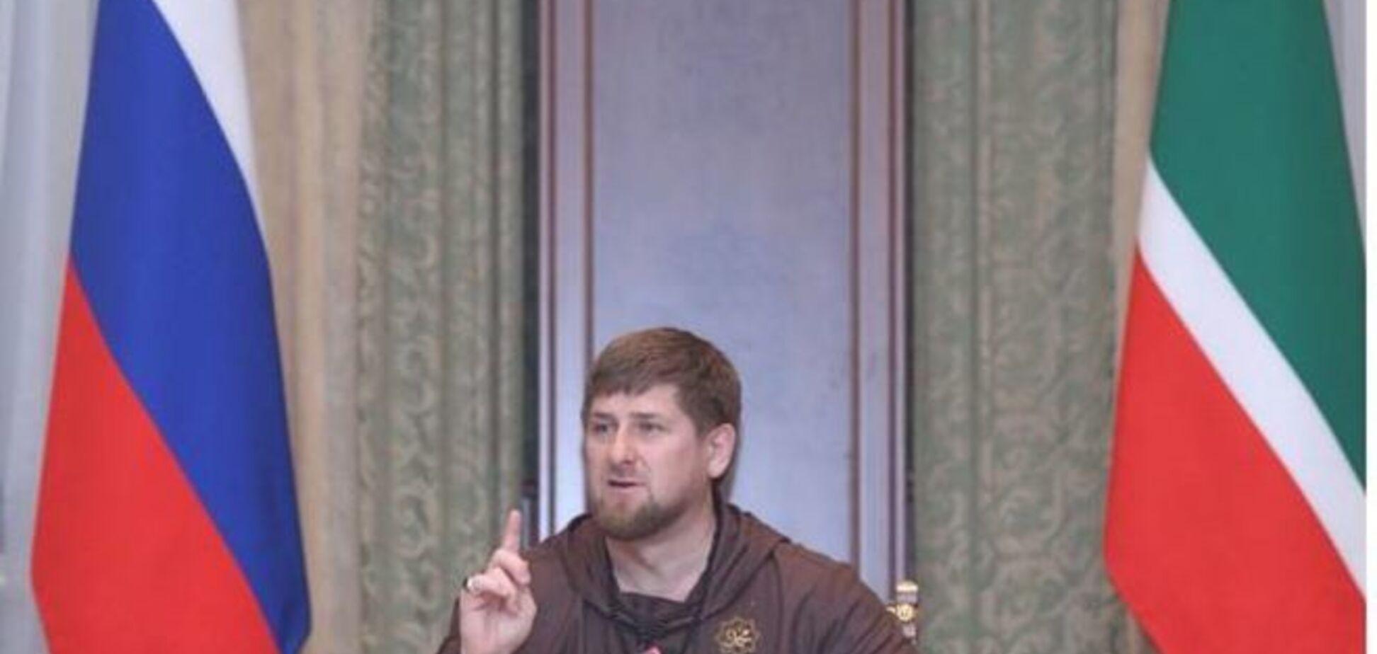 Кадыров обвинил в убийстве Немцова 'спецслужбы Запада и Украины'