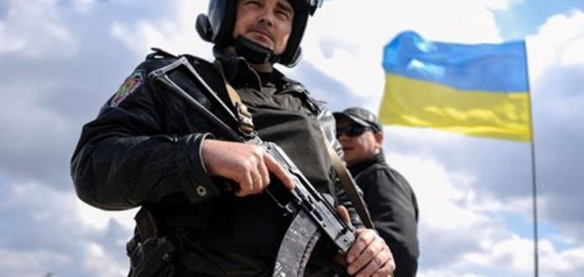 Бойцы Нацгвардии обнаружили более сотни мин на границе с Приднестровьем
