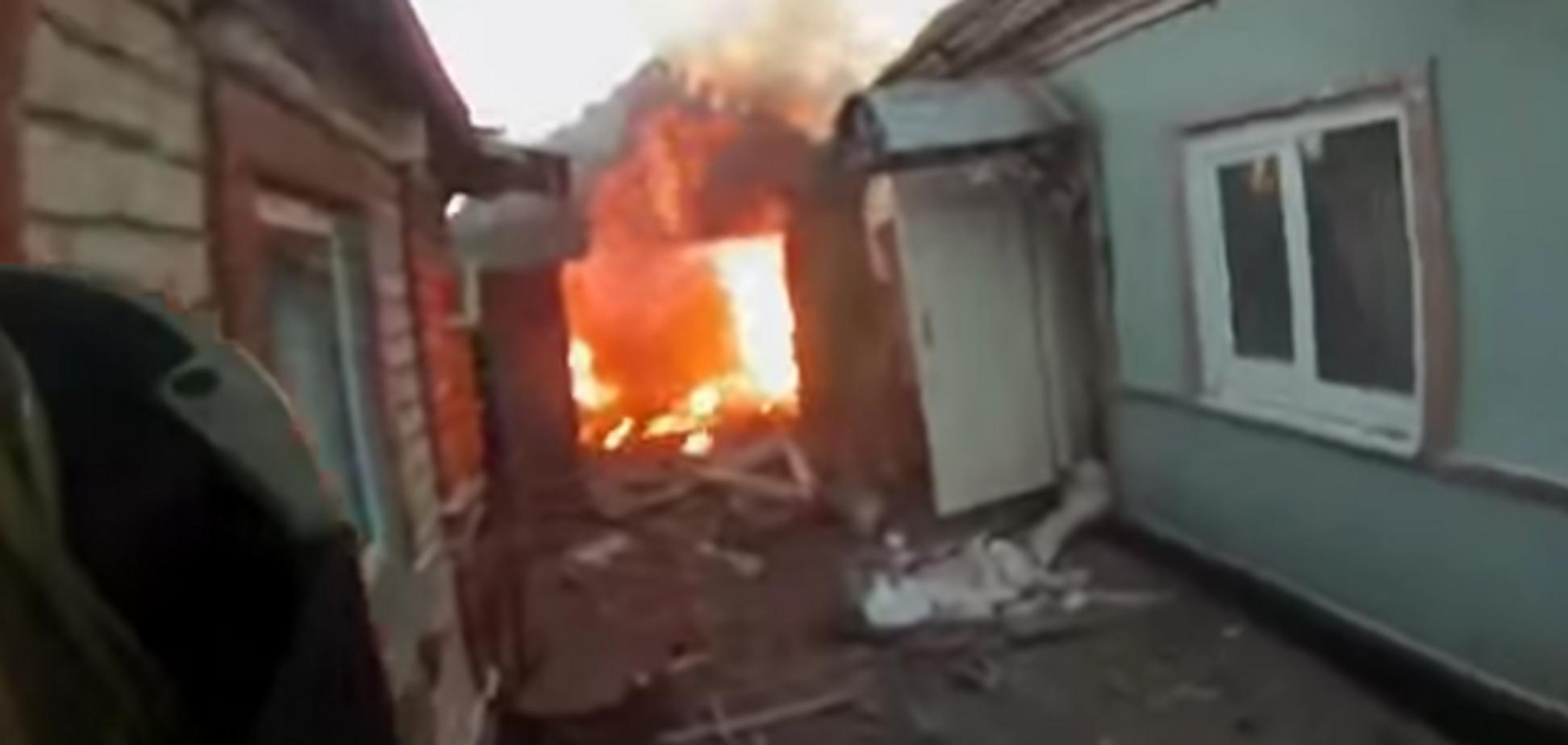 'Азов' показал, что осталось от Широкино после ожесточенных боев: видео из поселка