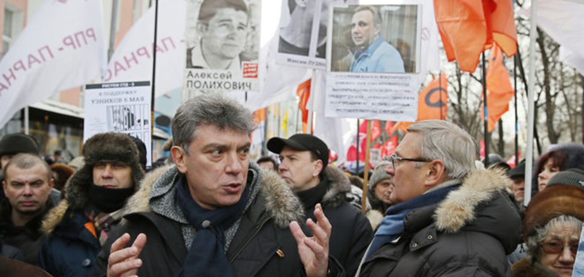 После убийства Немцова российская оппозиция отменила марш в Москве