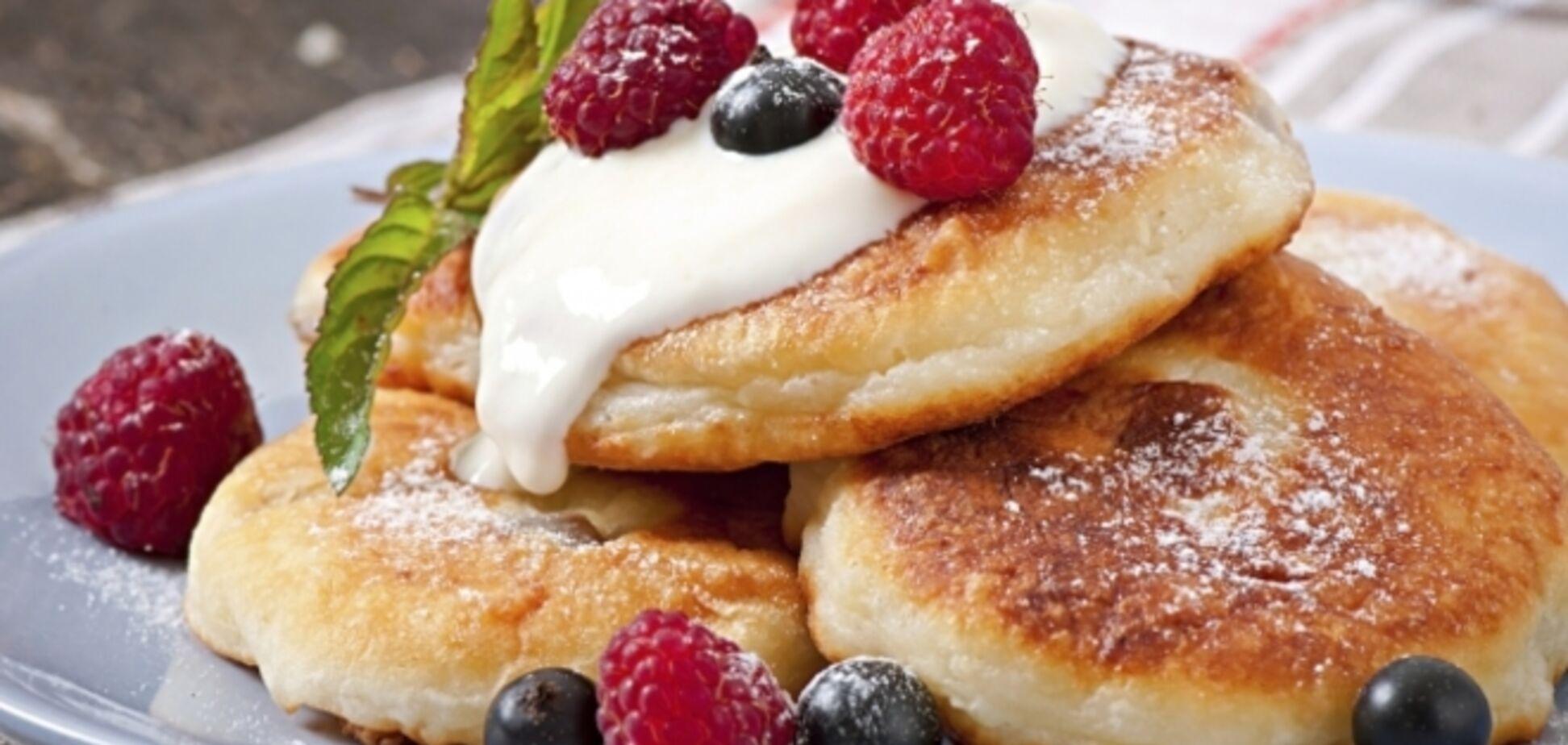Оригинальные сырники: очень быстрый и вкусный завтрак