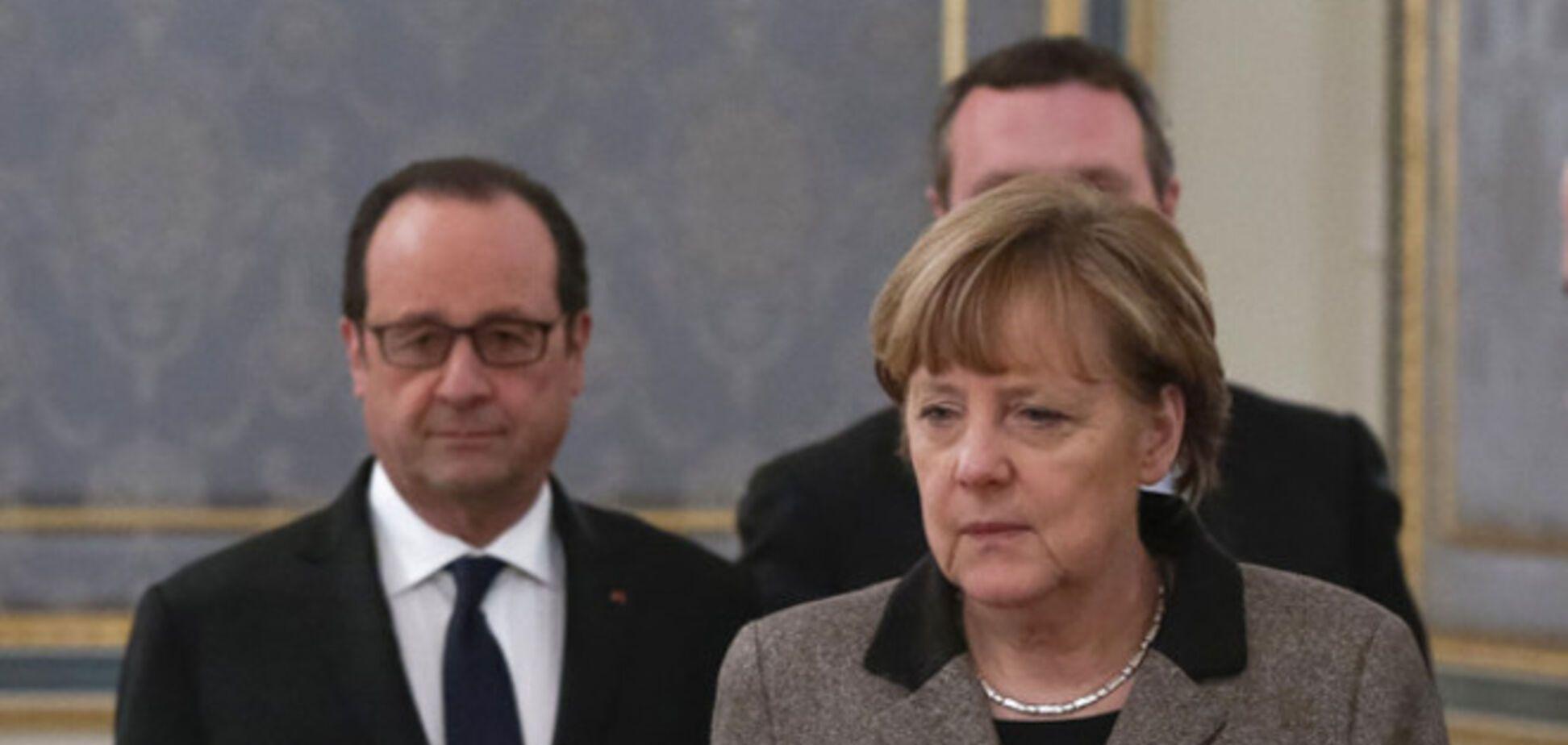 Путин передал Меркель и Олланду предложения по Украине