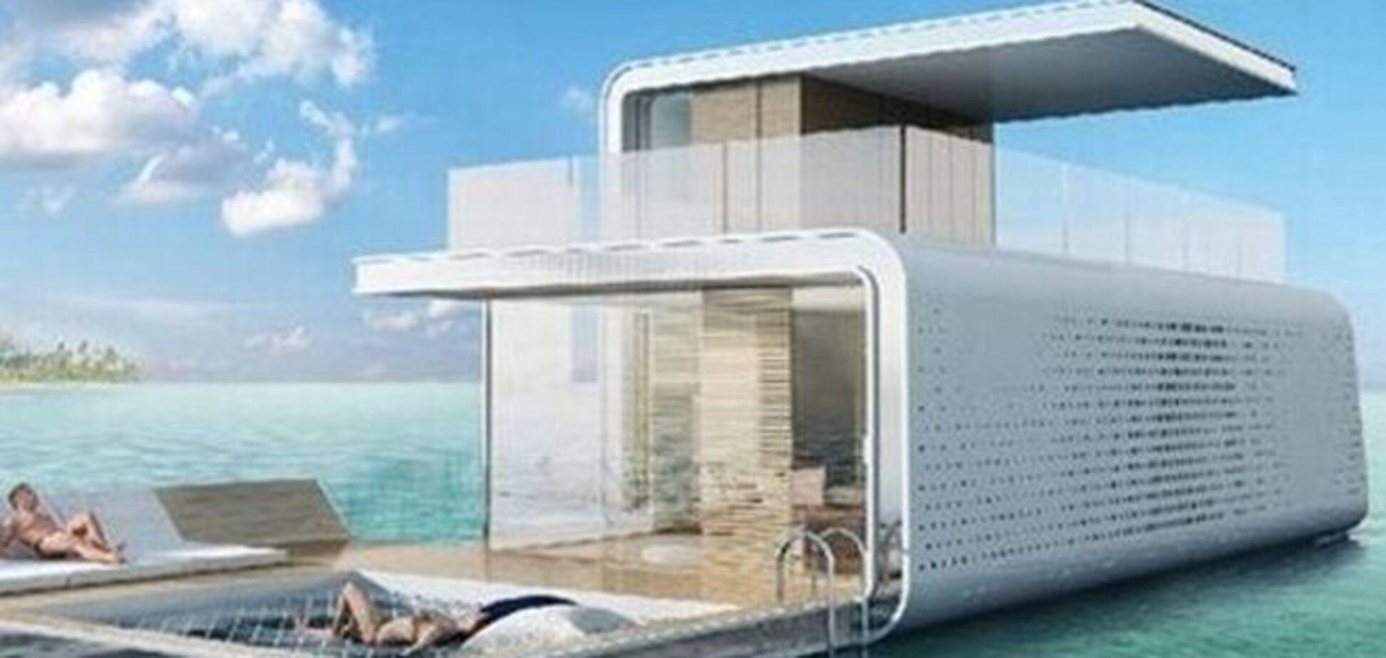 На грани фантастики. В Дубае возводят виллы с подводными этажами