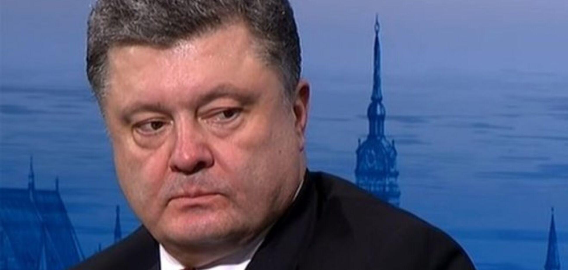 Порошенко рассказал о плане Путина и том, какое оружие нужно Украине