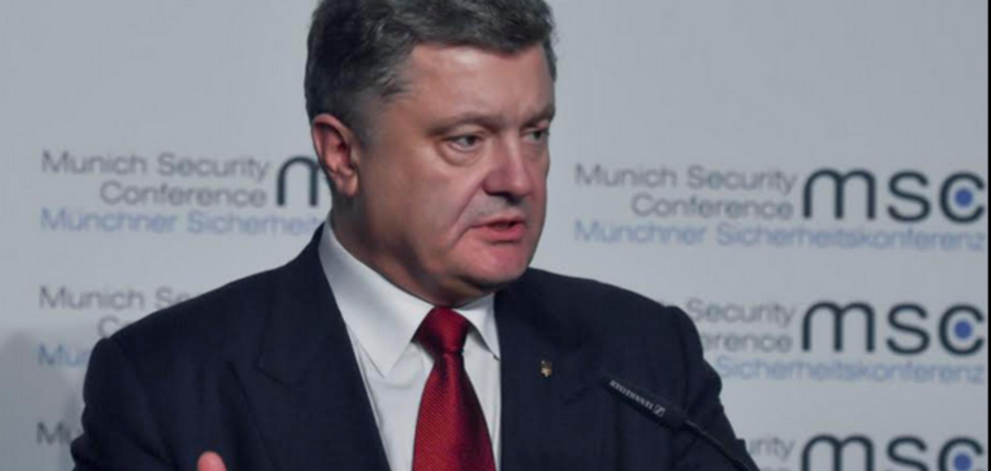 Порошенко объяснил, где и когда можно решить вопрос 'федерализации'