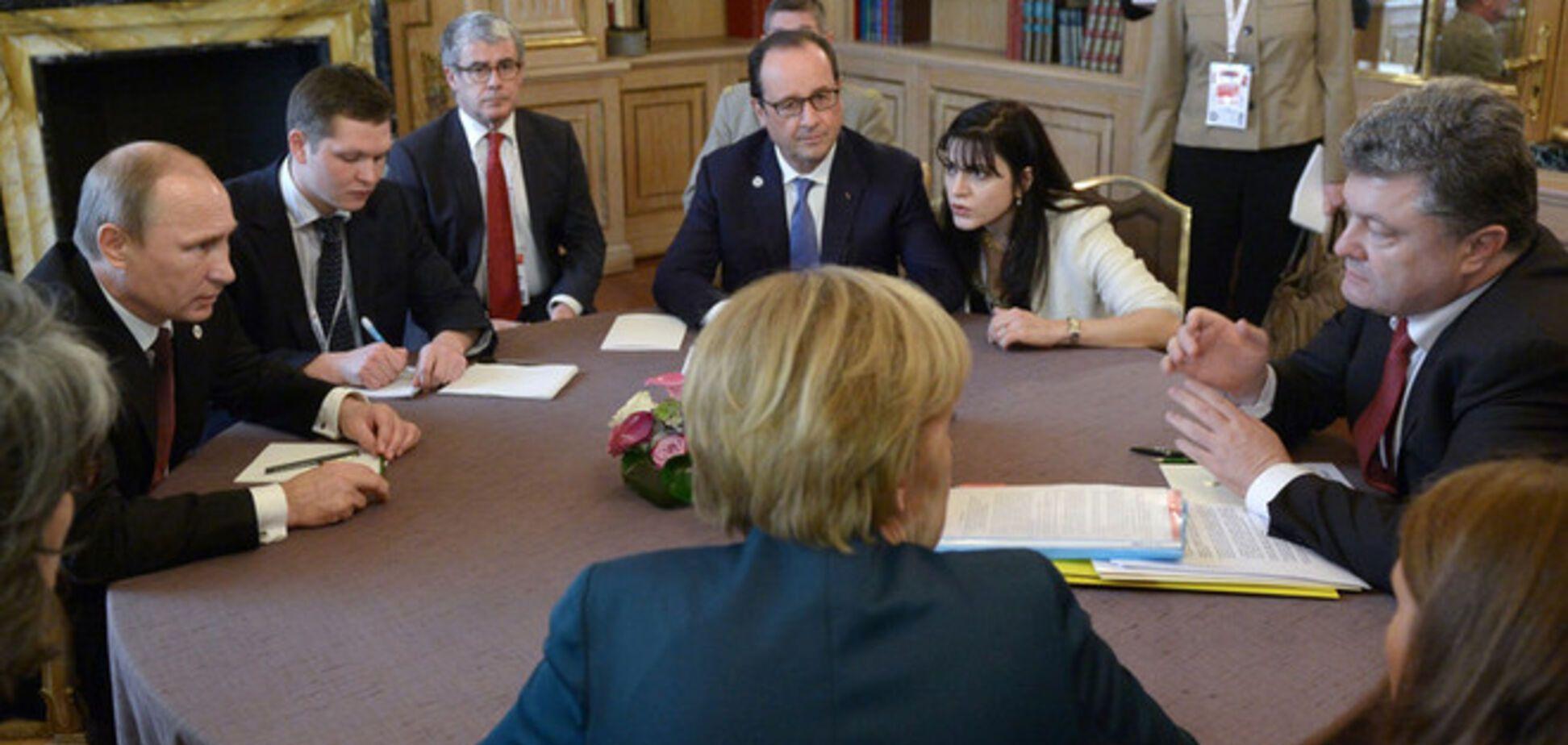 Порошенко, Меркель, Олланд и Путин встретятся в Минске 11 февраля