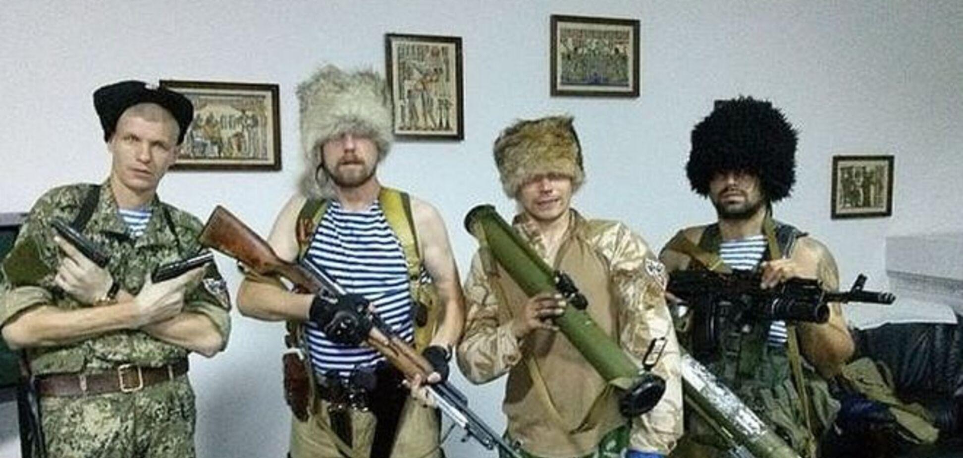 Мода 'Новороссии': опубликованы фото самых необычных нарядов террористов и их приближенных