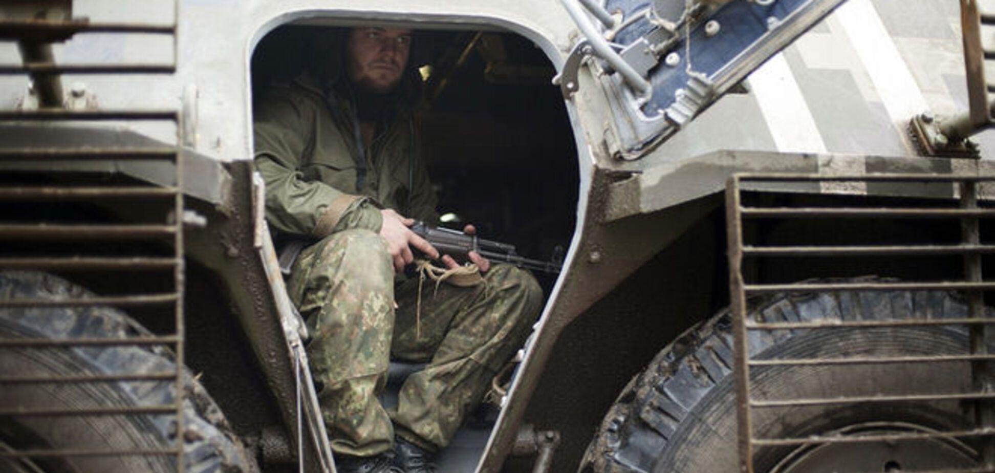 Боевики обстреляли бойцов АТО на донецком и мариупольском направлениях