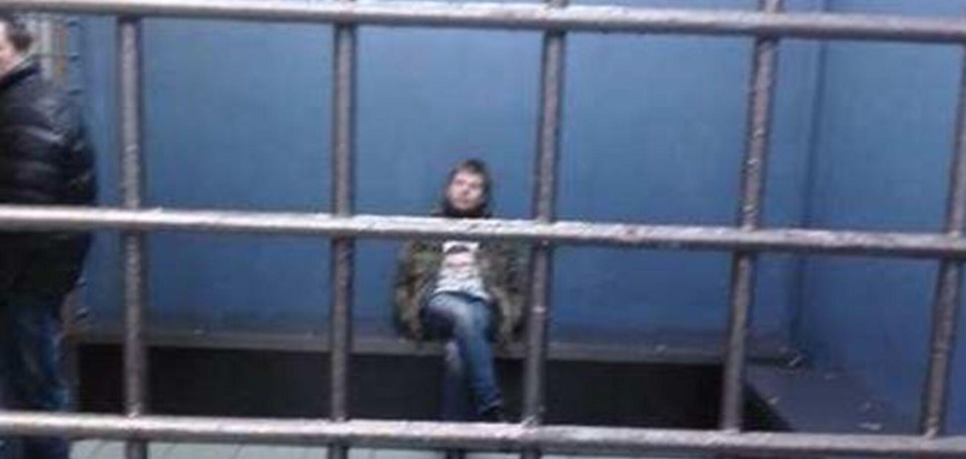 Гончаренко заявил, что его избивали после задержания. Назначен суд
