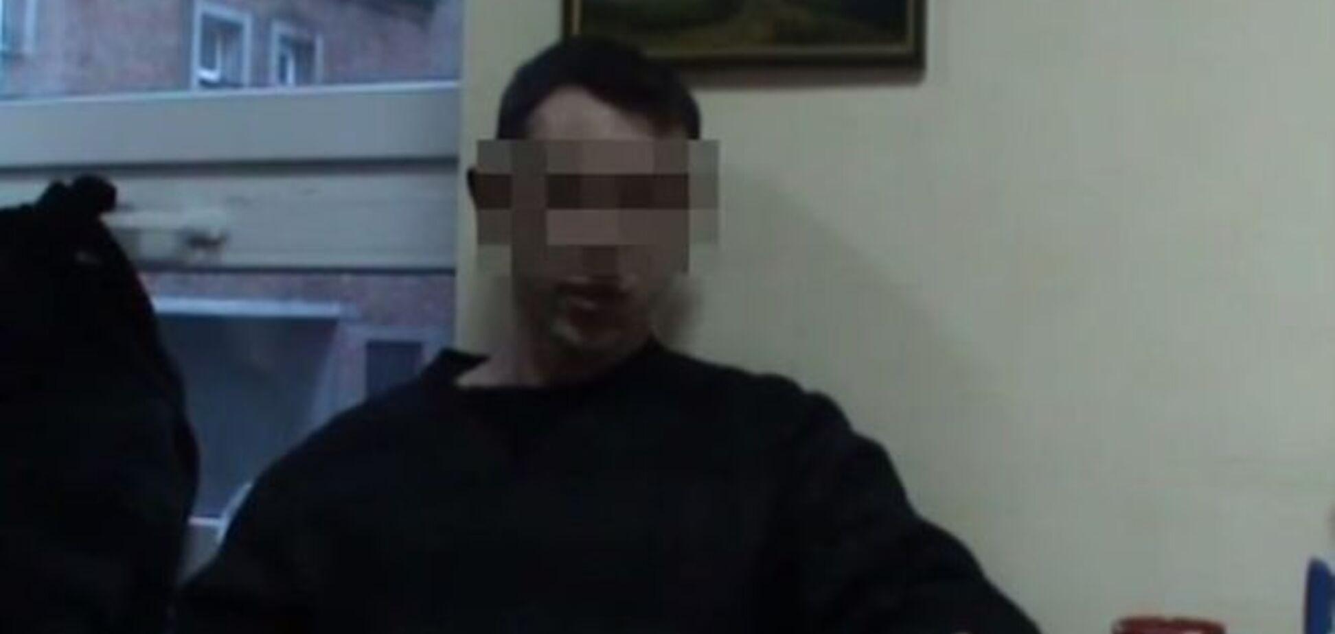 СБУ затримала російського найманця, який приїхав вбивати на Донбас за 100 дол. на день: відео зізнання